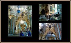 Il sontuoso interno della cattedrale deiSS.Pietro e Paolo...