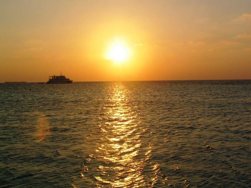 Il tramonto che scalda il Cuore