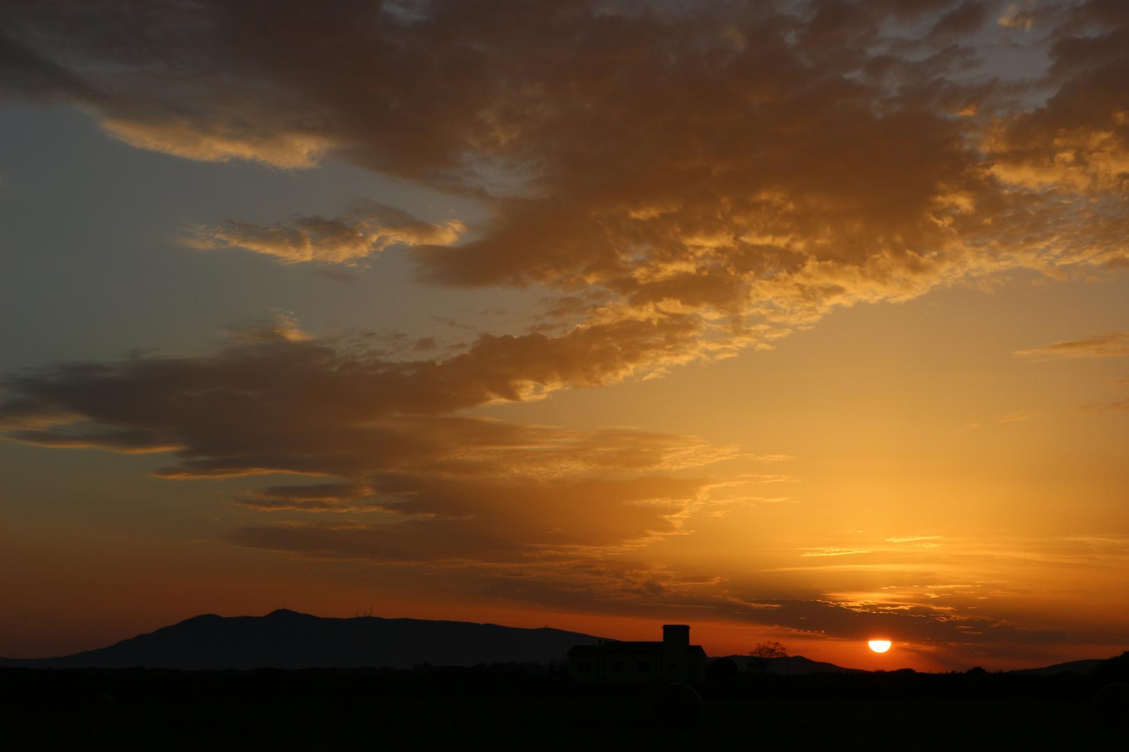 il tramonto ti strega...