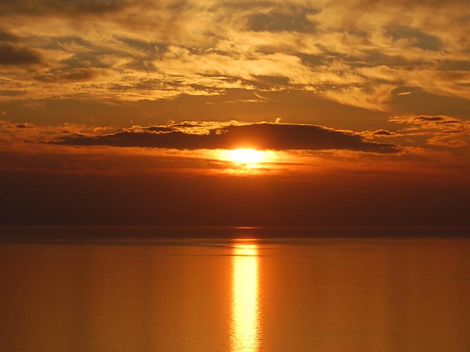 Il tramonto..a Maiori (SA)
