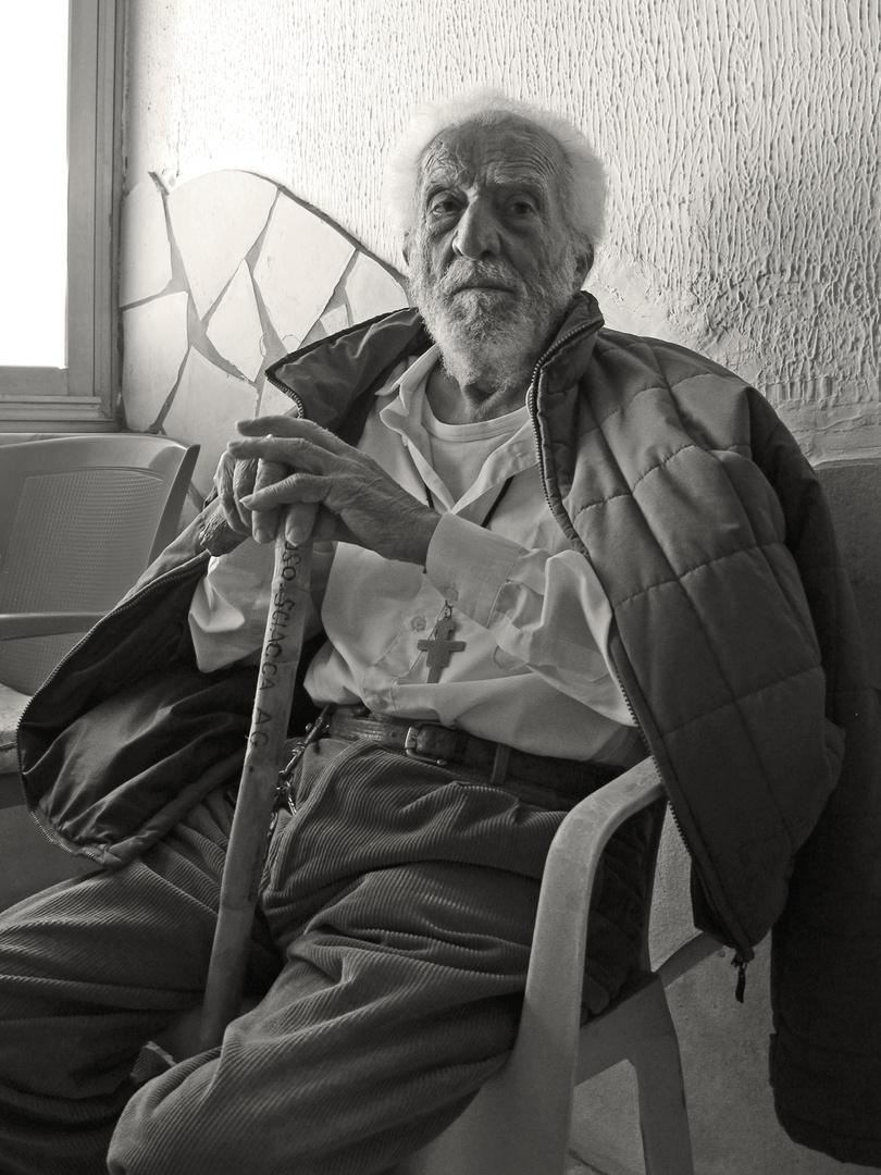 Il vecchio Siciliano - alter Sizilianer (Sciacca)