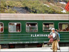Il vecchio treno di Fläm, patrimonio mondiale dell'Unesco