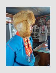Il villaggio Saami...i giovane guardiano..penisola di Cola