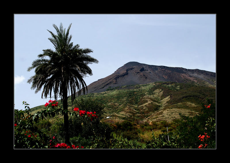 Il vulcano Stromboli...