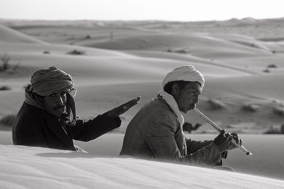 Il y a de la musique au désert aussi