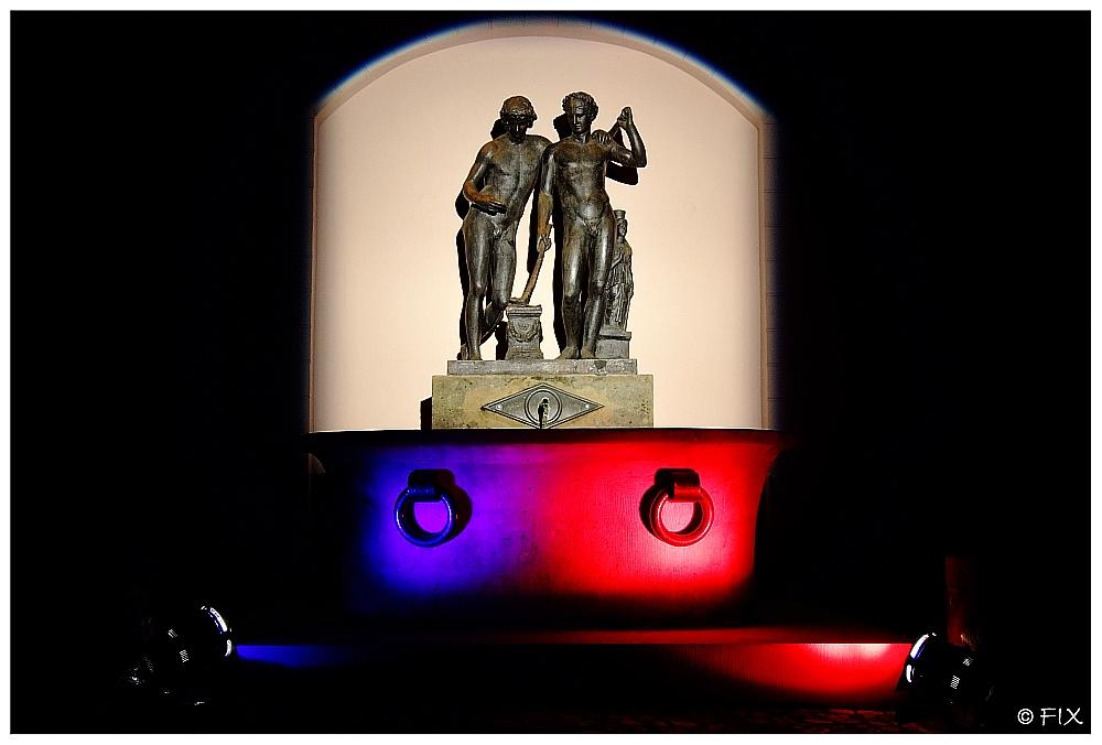 """Ildefonsobrunnen - gesehen auf der """"Langen Nacht der Museen 2008"""""""