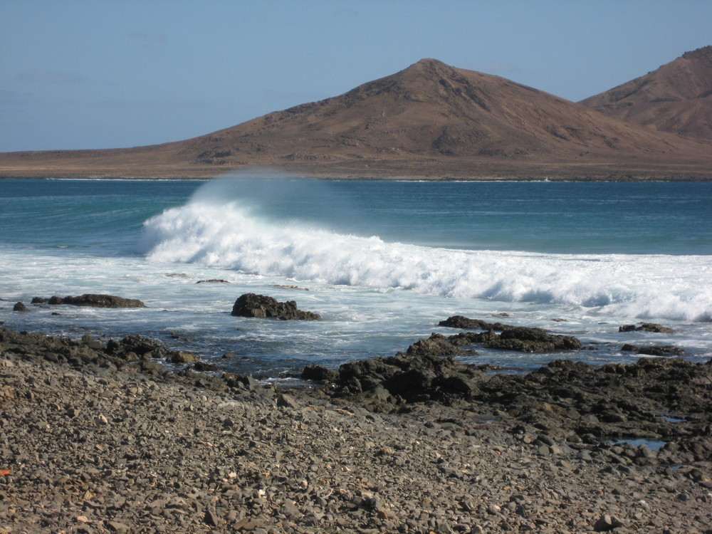 Ile de Sal / Royaume des vagues