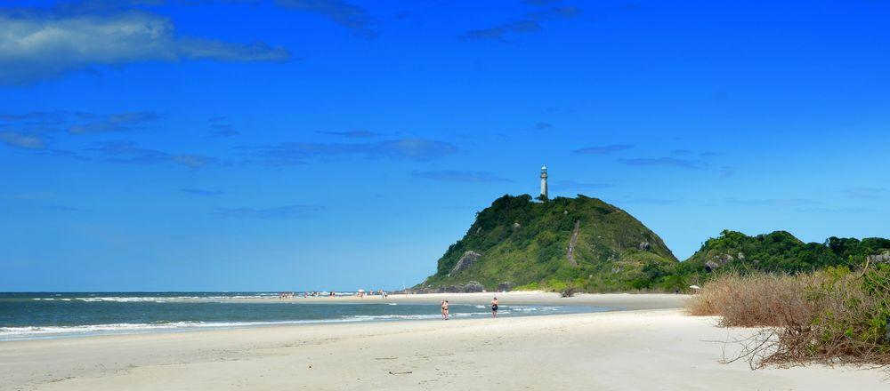 Ilha do Mel. Brasilien
