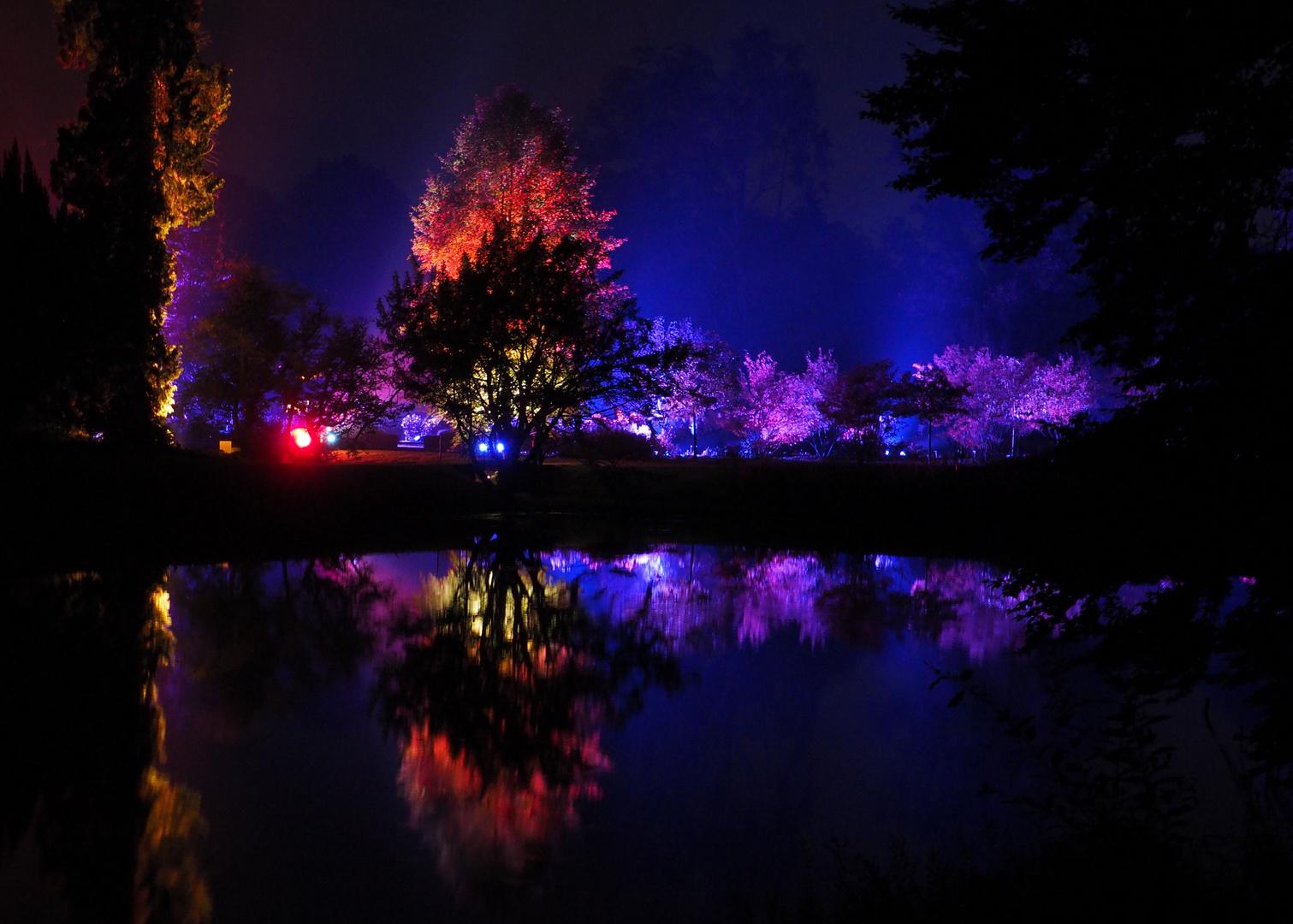 Illumina Schloss Dyck....