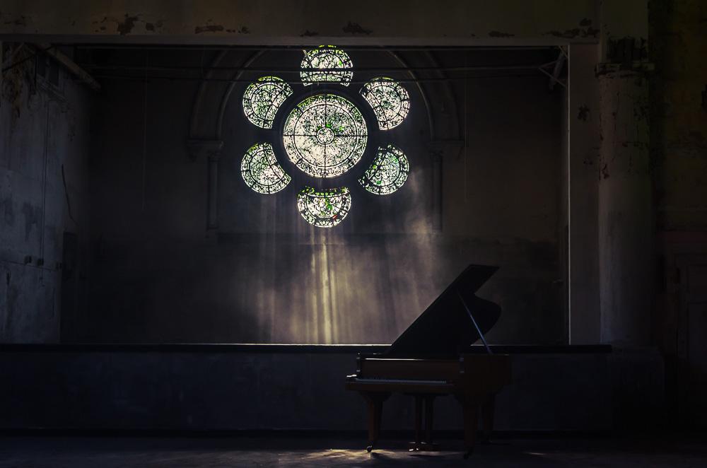 Illuminated Piano