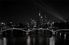 ...illuminated skyline...