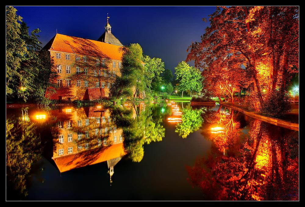 Illumination am Winsener Schloss