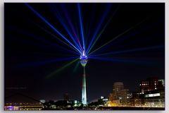Illumination Fernsehturm Düsseldorf