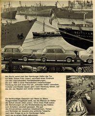 Illustrierter Rechenschaftbericht des Hamburger Senats 1964