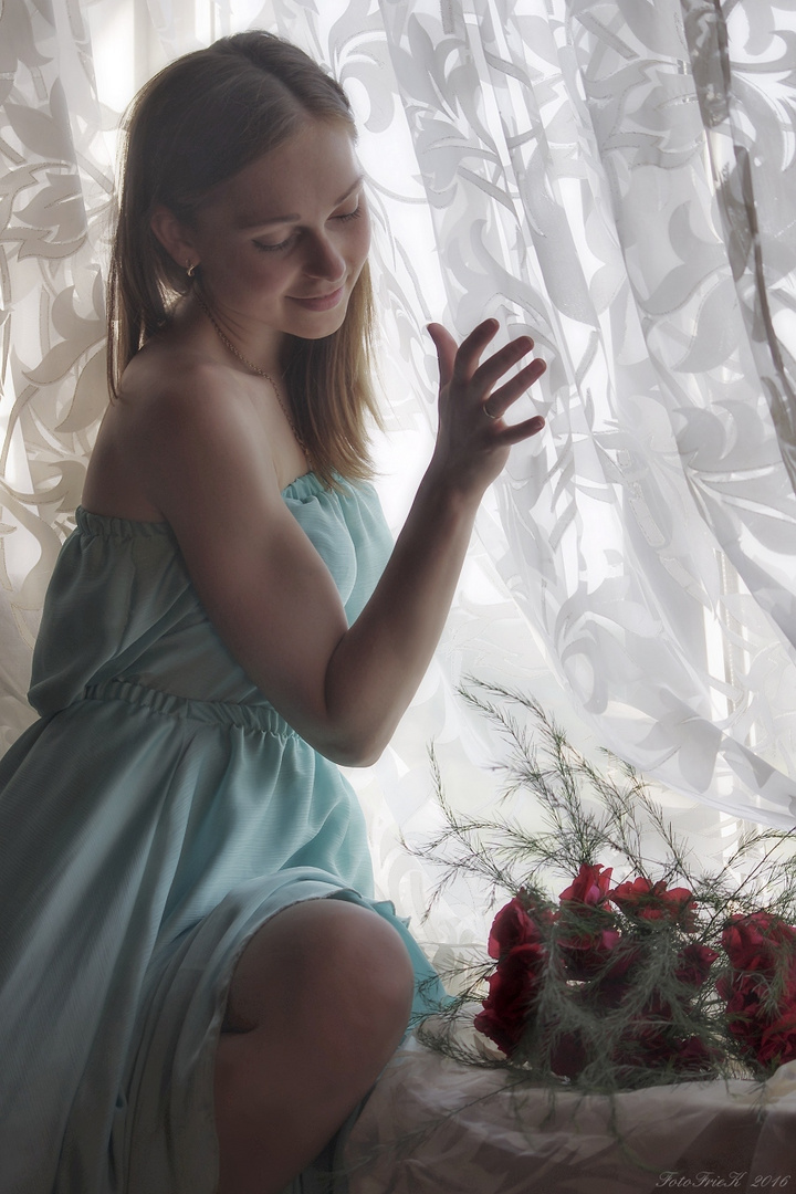 Ilona - liebt Blumen