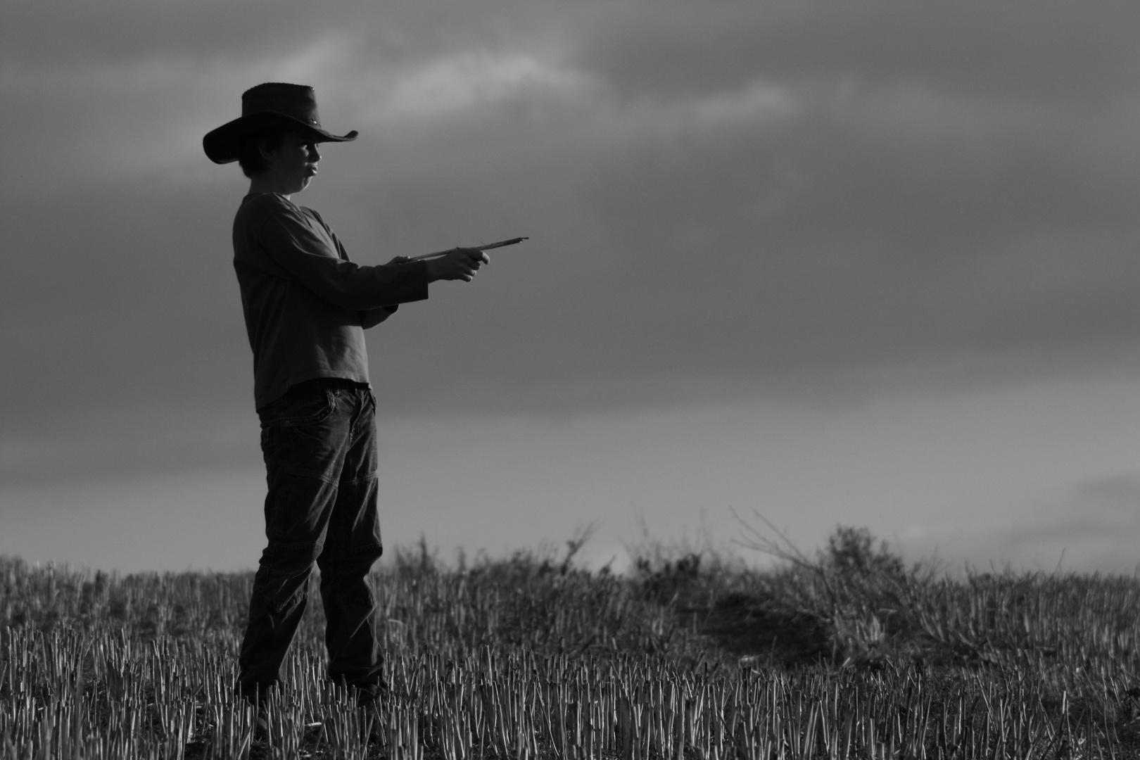 I'm a lonsome Cowboy...