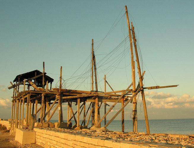 Im alten Fischerhafen Barletta /I