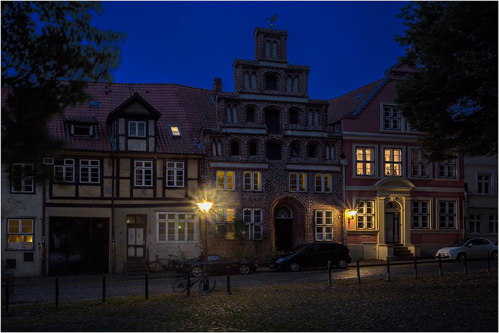 Im Altstadtkern von Lüneburg