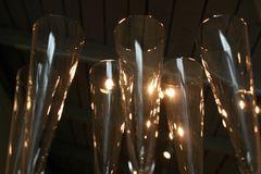im Austellungsraum einer Glasbläserei