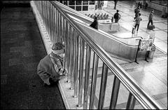 Im Bahnhof, Analoges Bild aus 1985