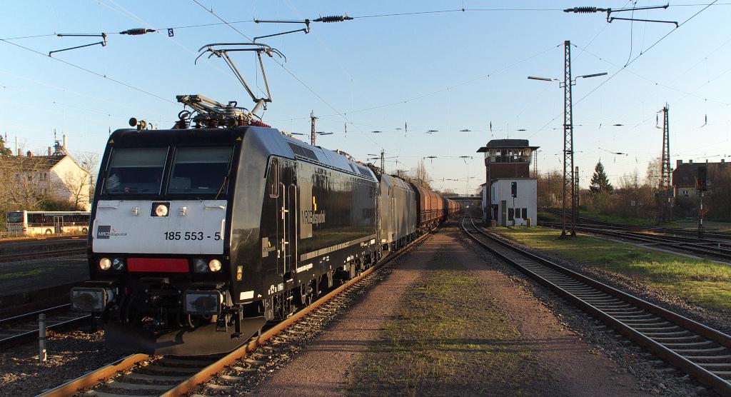 Im Bahnhof Dillingen-Saar gibt es immer etwas zu beobachten....II