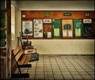 Im Bahnhof von Swanage/Südengland,