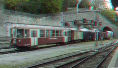 Im Bahnhof von Vevey