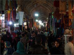 Im Basar von Shiraz