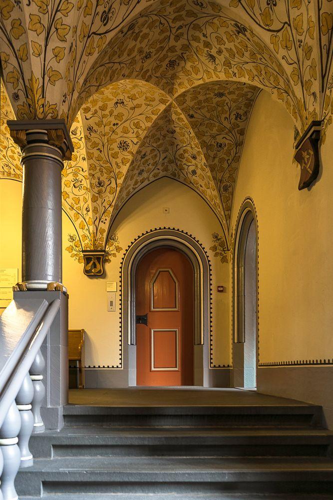 Im Basler Rathaus