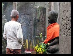 Im Bayon-Tempel