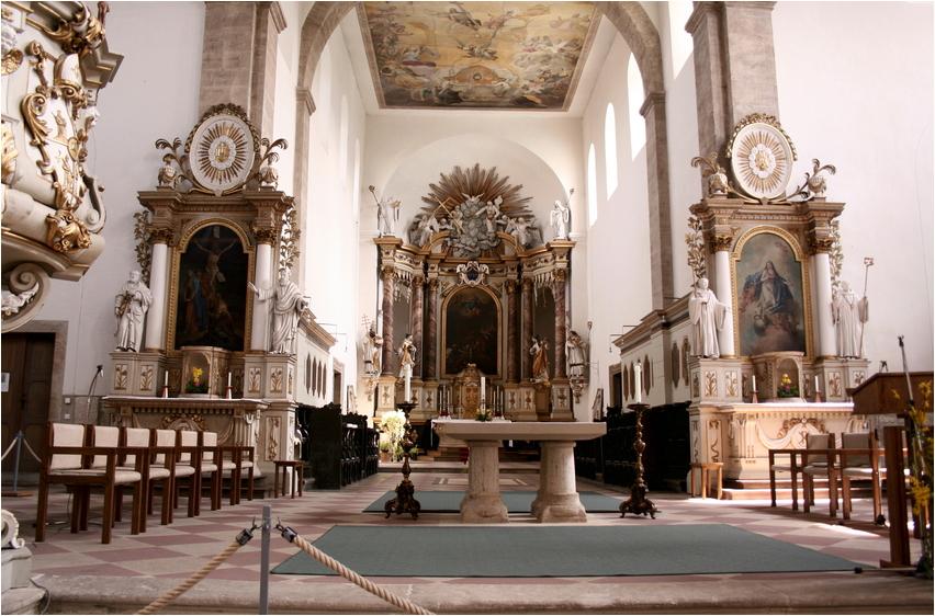 Im Benediktinerkloster Huysburg...