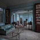 im blauen Salon...
