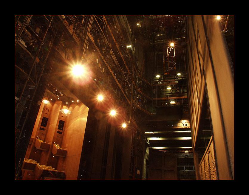 Im Bühnenhaus