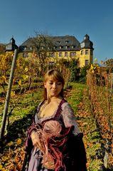 Im Dachsberg vor Schloss Vollrads