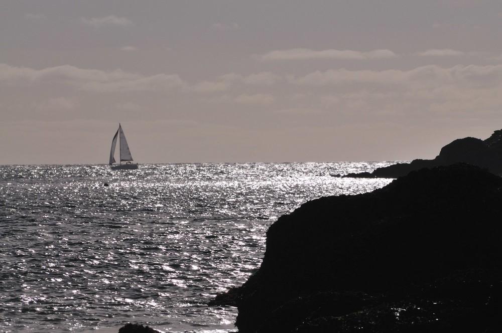 Im Dezember auf Belle Ile, Bretagne