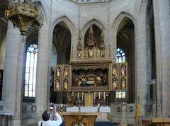 Im  Dom der Heiligen Barbara / Kuttenberg