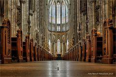 im Dom zu Köln ... mal wieder ohne Gerüst ... ;-)