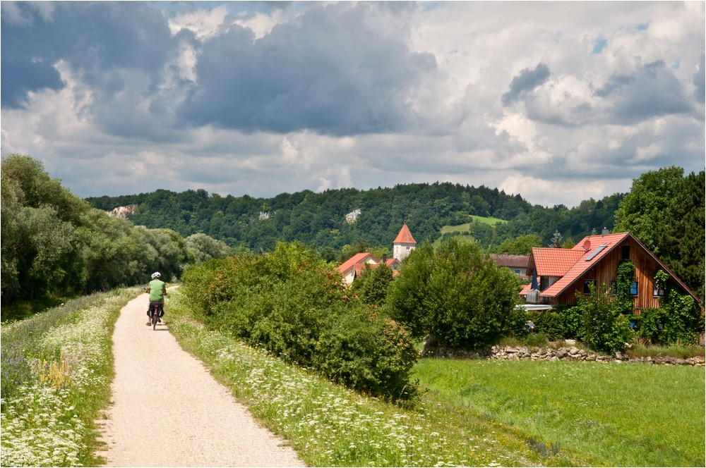 Im Donautal ...