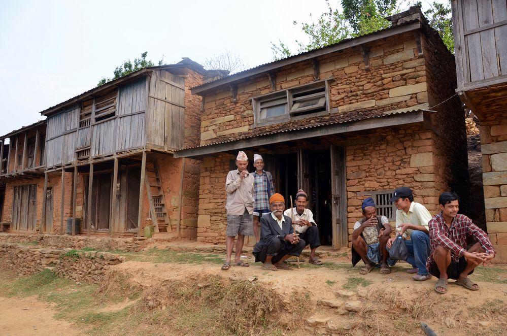 Im Dorf Bungkot östlich von Gorkha