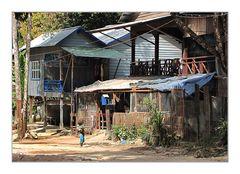 Im Dorf Phnom Kulen