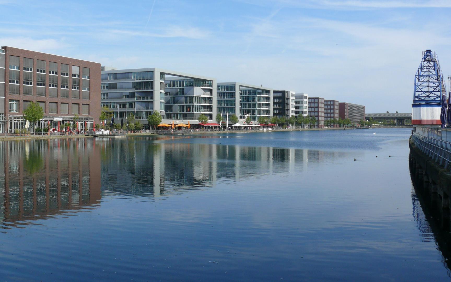 Im Duisburger Innenhafen