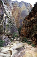 Im Echo-Canyon, Zion NP