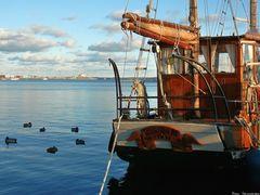 Im Eckernförder Hafen