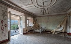 im ehemaligen Altenpflegeheim