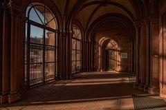im Eingangsbereich.... der St. Marcellinus und Petrus Basilika