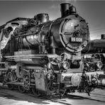 Im Eisenbahnmuseum Schwerin