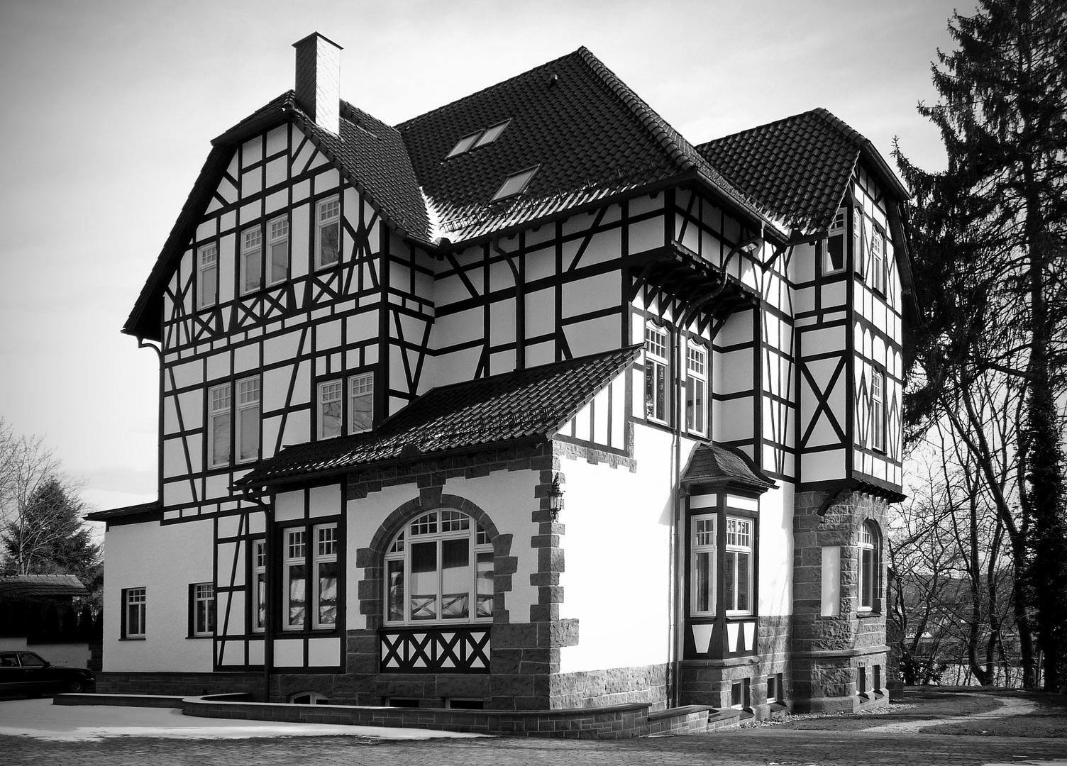 im fokus - architektur in schwarz/weiß