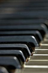 """im Fokus"" Detail- bzw. Macroaufnahme eines Musikinstrumentes"