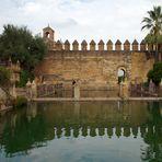 ..im Garten des Alcázar..