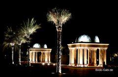 Im Garten des Emirates Palace
